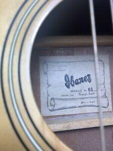 Vintage Ibanez Acoustic Guitar Made In Nagoya Japan