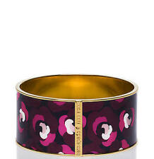 Kate Spade New York Bracelet Wide Abstract Flower Idiom Bangle NWD $98 retail