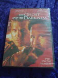 DVD.THE GHOST AND THE DARKNESS.DOUGLAS.KILMER.NEW . HUNTING.SOUTH AFRICAN R2