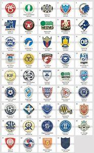 Badge Pin: European football clubs Denmark Part 1