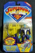 NEW Superman Animated Series Evil Alien Brainiac Action Figure NIB MOC SEALED