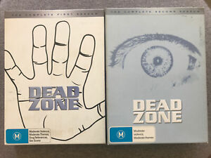 DVD - DEAD ZONE - COMPLETE FIRST & SECOND SEASON = Region 4 PAL