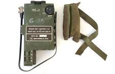 RARE AN/PRC-112 MOTOROLA SURVIVAL PILOT RADIO US ARMY USAF HANDSET AN/PRC-90