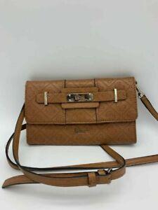 Guess Small Clutch Bag Purse with Wristlet Ladies Handbag Long Adjustable Strap