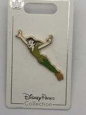 """Disney Parks Trading Pin Peter Pan Flying """"Off to Neverland"""" New on Card"""