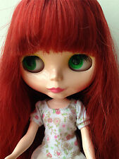 """Takara 12"""" Nude Blythe Doll from factory with purple hair 4 colorful eye chips"""