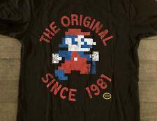 Loot Crate Exclusive Nintendo Mario 8-Bit Original Jumpman T-Shirt