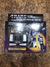 Transformers Soundwave G1 Walmart Exclusive Reissue Buzzsaw Cassette Sealed NEW!
