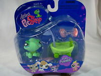 BNIB LITTLEST PET SHOP TURTLE WITH SHELL SCOOTER AND SUNGLASSES #642