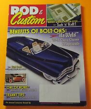 ROD & CUSTOM MAGAZINE NOV/2010...RICK DORE'S 1950 CADILLAC ROADSTER COVER CAR