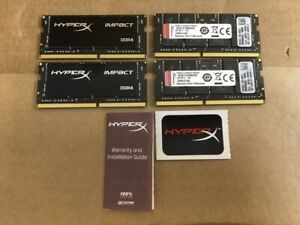 Kingston HyperX Impact 64GB PC4-17000 DDR4 SDRAM SO DIMM Kit HX421S14IBK4/64 ✅❤️