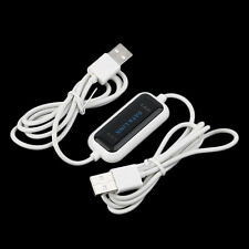 480Mb/s USB 2.0 Laptop PC To PC Online Data Link File Transfer Cable Bridge CY
