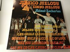 HELMUT ZACHARIAS mexico melody tokyo melody 643 307 uk polydor LP PS EX/EX