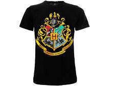 T-shirt originale HOGWARTS Harry Potter Ufficiale Warner Bros 4 CASE MAGLIETTA
