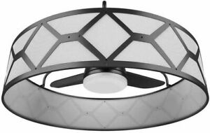 STILE Lancaster 36 in. LED Indoor/Outdoor Ceiling Fan w/ Remote #1173