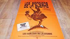 LES SORCIERS DE LA GUERRE wizards affiche cinema bd dessin bakshi 1977 md orange
