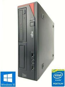 Fujitsu Esprimo E410 SFF - 250GB HDD, Intel Pentium G2020, 4GB RAM - Win 10 Pro