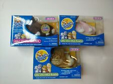 New listing Lot Of 3 Zhu Zhu Pets Hamster New In Box Electronic Movable Toy w Sound 2008
