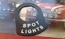 MINI COOPER S CLASSIC BMC MPI RALLY SPOT LIGHTS LUCAS SWITCH SURROUND RARE WORKS