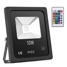 New listing Rgb 10W Led Flood Light Outdoor Spotlight Garden Yard Lamp Ip65 + Remote Control