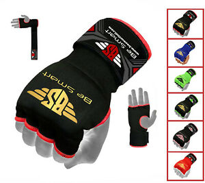 Wrist Hand Wraps PADDED Inner Boxing Gloves for MMA UFC Muay Thai Kick Boxing