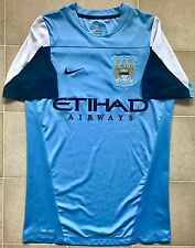Authentic Nike Manchester City 13/14 Training Jersey. Mens S, Excellent Cond.