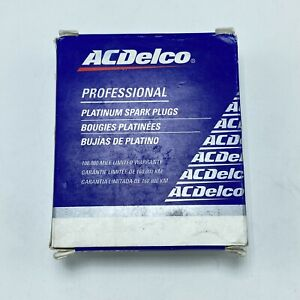NOS 199541-805 ACDelco 19307142 Platinum Spark Plugs Made In USA