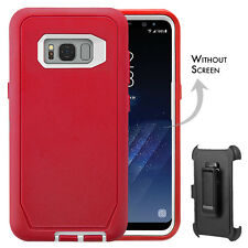 Samsung Galaxy S8 S8+ Pro Defender Rugged Case Shock Proof Holster Fit Otterbox