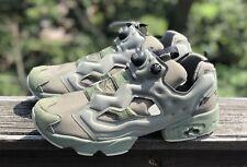 NEW Reebok Instapump Fury MTP Hunter Green BD1501 OG Sneakers Suede Grey SZ 12
