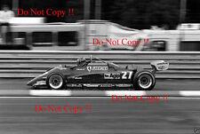 Gilles Villeneuve Ferrari 126 C2 Belgian Grand Prix 1982 Photograph 6