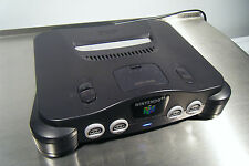 Nintendo 64 Console , N64 Console with RGB , plays JP ,color change led,logo mod