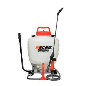 Garden Backpack Sprayer Lawn Pump 4 Gallon Chemical Tank Bottle Spray Wand New