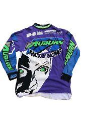 Vintage AXO Sport Auburn Racing Motocross BMX Jersey Shimano S 90s Zombie Biking