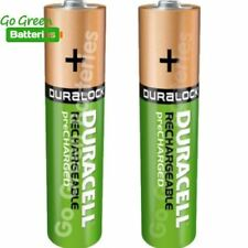 2 x Duracell AAA 850 mAh Rechargeable Ultra Batteries NiMH ACCU LR03 HR03 Phone