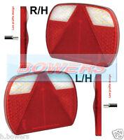 2 x LED AUTOLAMPS EU200LR2 12V/24V SLIM LINE COMBINATION TRAILER LAMPS LIGHTS