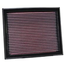 K&N 33-2873 Replacement Panel Air Filter for Volvo V50/S40/C30/C70 2.4L/2.5L