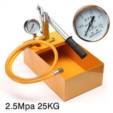 25KG/2.5Mpa Hydraulic Manual Water Pressure Test Pump Pipeline Tester Machine