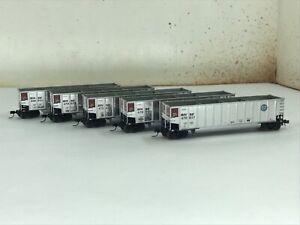 Athearn N scale Bethgon coalporter 5 car set BNSF Set 2