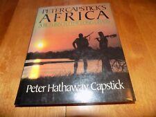 PETER CAPSTICK'S AFRICA Return to the Long Grass Safari First Edition VG Book