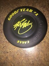 Kurt Busch Signed Autographed Mini Goodyear Tire Nascar Monster Energy Haas
