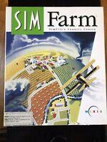 SIM FARM Mac Big Box Computer Game for Macintosh Vintage