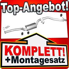 Auspuff FORD FOCUS MK2 2.0 TDCi Schrägheck / C-MAX für mit DPF Auspuffanlage 714