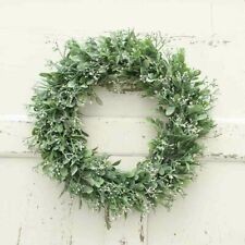 40CM Fake Artificial Garden Wreath Home Door Decoration Greenery Wedding Event