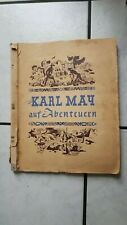 Mit Karl May auf Abenteuern- Klebealbum   Band II (Serie 1-20) Walter Rau Vlg.