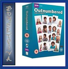 OUTNUMBERED COMPLETE SERIES 1 2 3 & 4 PLUS XMAS SPECIAL ** NEW  DVD BOXSET***