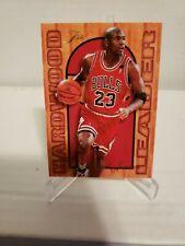 🔥🏀Michael Jordan Hardwood Leader 1995-96 Flair Basketball #4of27 Chicago Bulls