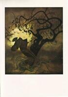 EDMUND DULAC VINTAGE ART PRINT.Original Stunning FairyTale Fantasy Illustration