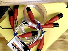 Nordost 3x Red Dawn XLR  Y-Interconnects 1 1/2 PAIRS (3 cables) LOT00012070501