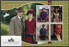 Grenada Grenadines 2014 MNH Downton Abbey 4v M/S II TV Series Stamps