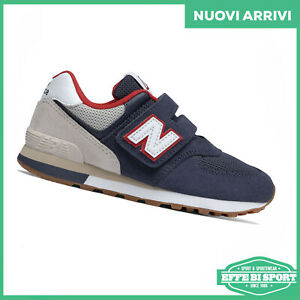 New Balance 574 scarpa junior con strappo sneakers bambino sportiva tempo libero